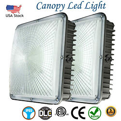 45W 70W LED Canopy Light Outdoor Commercial Lights Fixture AC 100 277V 5500K