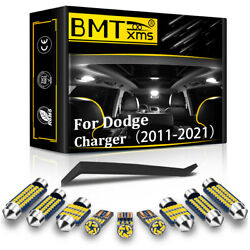 19 Bulbs Canbus Interior LED Lights Package Kit For Dodge Charger 2011 2021