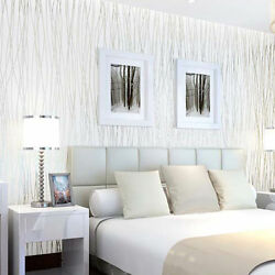 Wall Paper Bedroom Living Mural Roll Wall Background Tv Home 3D Modern Decor $29.12