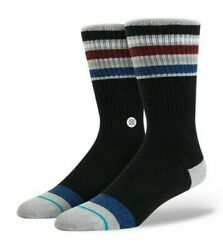 NWT Stance Pinpoint Socks Size Large 9 12 Black $11.99