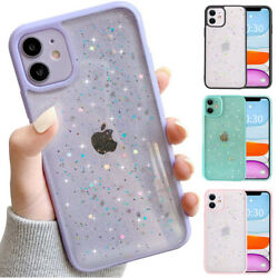 Bling Shockproof Case Cute Glitter Cover For iPhone 13 12 11 Pro Max XS XR 7 8 $7.98