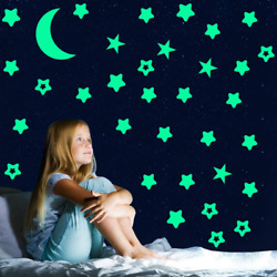 Sovob Glow In The Dark Stars StickersGlowing Stars For Ceiling And Wall3D Wall $7.99