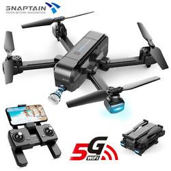 SNAPTAIN SP510 Foldable Drone 2.7K Full HD Camera 5G WiFi FPV RC Quadcopter GPS $85.49