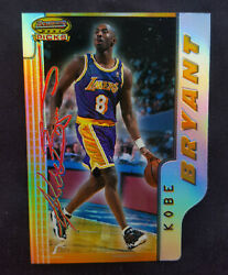 1996 BOWMAN#x27;S BEST PICKS KOBE BRYANT REFRACTOR ROOKIE NM MT RC with Magnet Case $1889.99