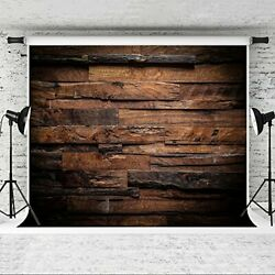 Brown Wood Backdrop for Photography Customized Vintage Background for 10x10ft $169.08