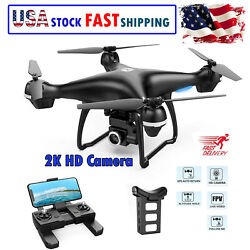 RC Drone GPS FPV Wide Angle Lens with 2K HD Camera Live Video GPS Return Home US $99.00