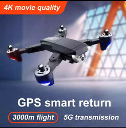 GPS 5g Drone UAV With Aerial Photography 4K HD Pixel Camera Remote Control AU $149.00