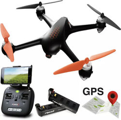 Force1 GPS Drones with Camera F200SE Shadow Hex GPS Follow Me Drone 1080p HD $115.99