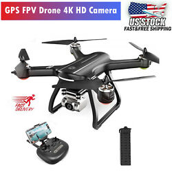 Holy Stone HS700D RC Drone With 4K HD Camera FPV GPS Quadcopter Brushless Motor $179.00