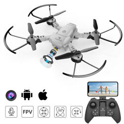 2021 SNAPTAIN A10 Upgraded 1080P WiFi RC Foldable Drone HD Camera FPV Quadcopter $37.99