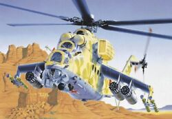 Italeri 1 72 MIL24 Hind D E Helicopter ITA14 $19.89