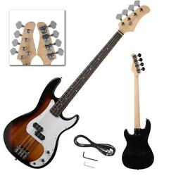 New Professional Golden 4 String Electric Bass Guitar $74.59
