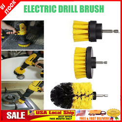 3Pcs Power Scrubber Electric Drill Brush Tile Floor Glass Cleaning Tool Kits US $11.57