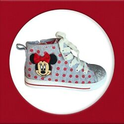 Disney Minnie Mouse Toddler Girls High Top Shoes $18.40