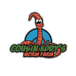 SHIPPING INCLUDED 1Lb approx 1000 Red Wiggler Composting and Bait Worms $48.97