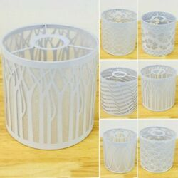 Floral Metal Lampshade Light Pendant Table White 5.5*5.5inch 6 Model New $20.53