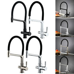 Kitchen Faucet Commercial Sprayer Water Filter Faucet Drinking Water Faucets $93.91