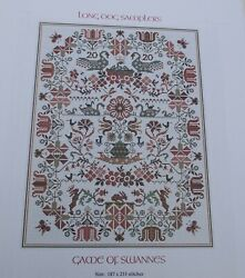 Long Dog Samplers Game of Swannes Cross Stitch Pattern $11.90