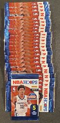 ONE 2020 2021 NBA Hoops Basketball 5 card Pack NEW SEALED DOLLAR TREE YELLOW $6.00
