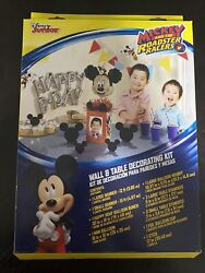 Mickey Mouse And The Roadster Racers Birthday Wall And Table Decor Kit $8.00