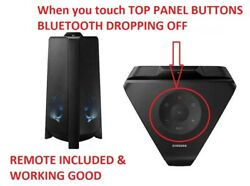 Samsung MX T50 Giga Party Audio High Power 500W TOP PANEL BUTTONS NOT WORKING ™ $159.95