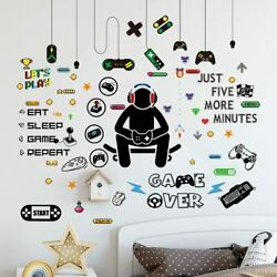 Game Wall Decal Stickers Paper Room Decoration Art Design PVC Home Bedroom $12.98