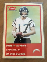 2004 Fleer Tradition PHILIP RIVERS RC Chargers Rookie $7.95