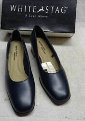 ** WHITE STAG WOMENS DRESS SHOES Size 8 Mary Ann NEW in ORIGINAL BOX $13.33