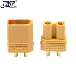 JMT XT30 Connector Male Female Plug for RC Drone Aircraft Quadcopter Motor $5.21