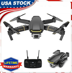 FPV RC Drone with HD 1080P Camera Foldable RC Selfie Quadcopter 1 Battery E9L5 $55.17