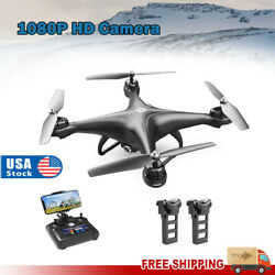 Holy Stone HS110D FPV RC Drone with 1080P HD Camera 120° Wide angle Quadcopter $69.00