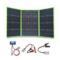 New 150W Portable Foldable Solar Charger Panel for Camping RV Outdoors and Home $229.88