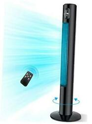 Tower Fan 46 Inch Oscillating Tower Cooling Fan with Remote Large LED $174.20