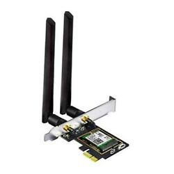 WiFi 6 AX3000 PCIe WiFi Card for PC with Bluetooth 5.1 802.11ax Dual Band $56.29