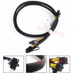 63cm New Power Adapter PCIE Cable 10pin to 88pin For HP DL380 G9 Gen9 and GPU $15.99