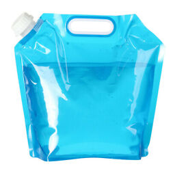Hiking For Sport Camping BPA Free Plastic Folding Water Container Collapsible C $5.58