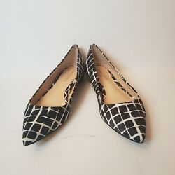 NEW Adam Lippes for Target Shoes Black White Size 6.5 $18.00