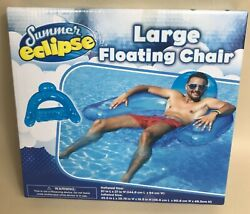 Summer Eclipse Large Floating Chair Pool Float Beach Float $8.00