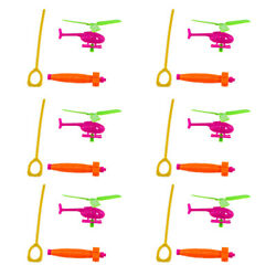6pcs Durable Lovely Funny Plane Toys Helicopter Toys for Kids $7.81