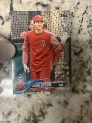 2018 Topps Series 2 Shohei Ohtani RC With Bat SP $130.00