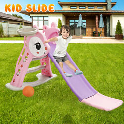 Toddler Climber Play Slide Set Kids Playground Child Play Set Toy Indoor Outdoor $52.99