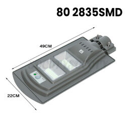 90000LM Solar LED Street Light Commercial Outdoor IP65 Security Road Lamp