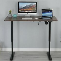 55quot; Modernchamp Electric Sit Standing Desk Height Adjustable Table Home Office $211.55