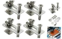 4PCS T Track Mini Hold Down Clamp Kit Compatible with 3018 PRO 3018 MX3 3018 $14.21
