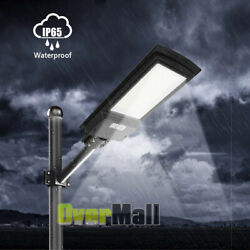 990000LM Outdoor Commercial 936LED Solar Street Light IP65 Parking Lot Road Lamp