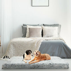 Oversize Orthopedic Dog Beds Memory Foam for Large Dogs Mattress Joint Relief $22.96