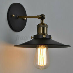 Wall mounted Hanging Lampshade Cover Plug In Light Shade with Swing Arm Bar Hom $15.01
