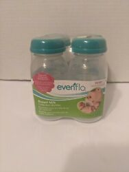4 Evenflo Breast Milk Collection Bottles 5 Ounces New BPA FREE $11.98