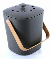 Bamboozle Food Composter Indoor Food Compost Bin for Kitchen Graphite $69.98
