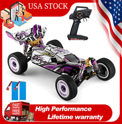 Wltoys 124019 RC Racing Car 60km h 1 12 2.4G Off Road RTR 4WD 2 Batteries N1R9 $115.70